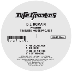 DJ Romain/TIMELESS HOUSE PROJECT 12""