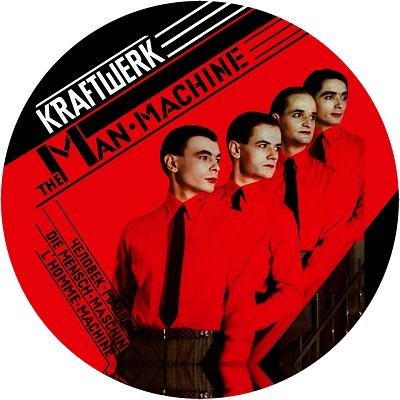 Kraftwerk/MAN MACHINE ALBUM SLIPMAT