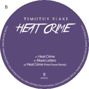 "Timothy Blake/HEAT CRIME EP 12"""