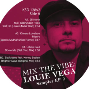 Louie Vega/MIX THE VIBE SAMPLER #2 12""