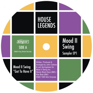 Mood II Swing/HOUSE LEGENDS EP #1 12""