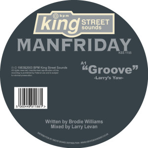 Manfriday/GROOVE 12""