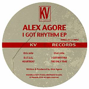 Alex Agore/I GOT RHYTHM EP 12""