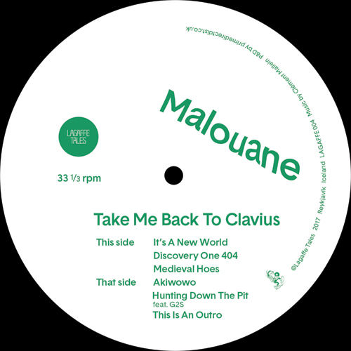 Malouane/TAKE ME BACK TO CLAVIUS EP 12""