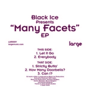 Black Ice/MANY FACETS EP 12""