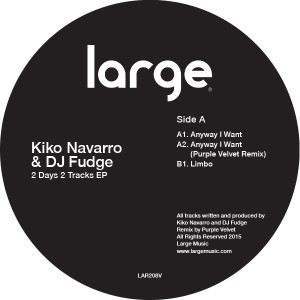 Kiko Navarro & DJ Fudge/2 DAYS... 12""
