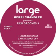 Kerri Chandler/RAW GROOVES 3 12""