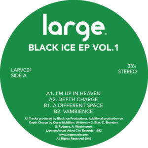 Black Ice/BLACK ICE EP VOL. 1 12""