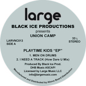 Black Ice/PLAYTIME KIDS 12""