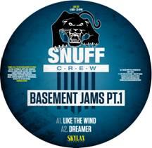 "Snuff Crew/BASEMENT JAMS PT.1 12"""