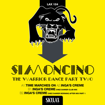 Simoncino/THE WARRIOR DANCE PART 2 12""