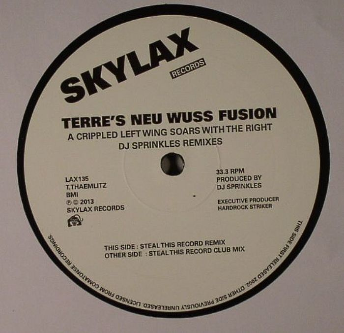 "Terres Neu Wuss Fusion/A CRIPPLED...12"""