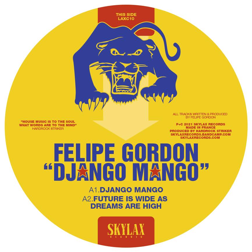 """Felipe Gordon/DJANGO MANGO 12"""""""