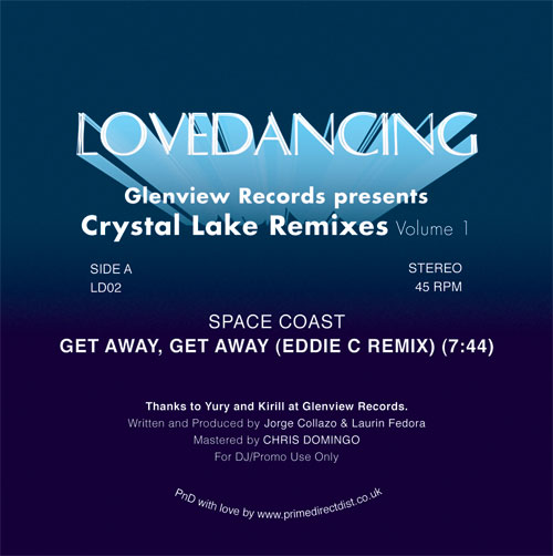 Space Coast/CRYSTAL LAKE RMX'S VOL 1 12""