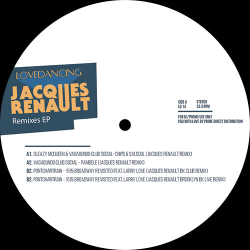 Jacques Renault/LOVEDANCING REMIXES 12""