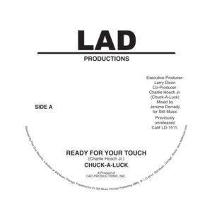 Chuck-A-Luck/READY FOR YOUR TOUCH 7""