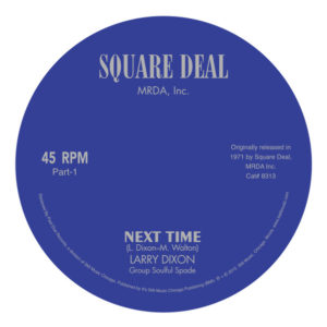 Larry Dixon/NEXT TIME 7""