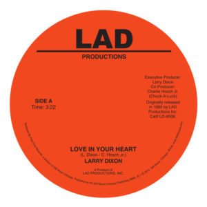 Larry Dixon/LOVE IN YOUR HEART 7""