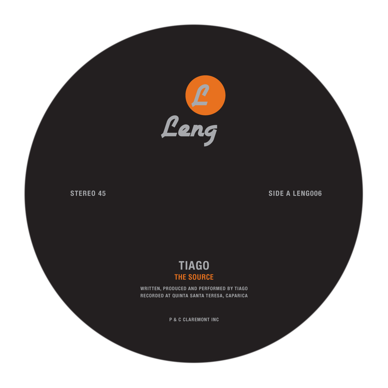 Tiago/THE SOURCE 12""