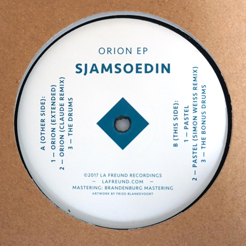 "Sjamsoedin/ORION EP 12"""