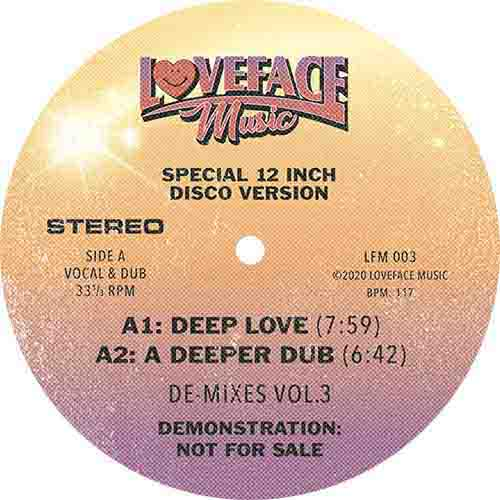Loveface/DE-MIXES VOL. 3 12""