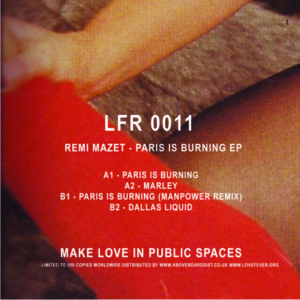 Remi Mazet/PARIS IS BURNING EP 12""