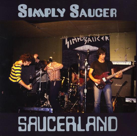 Simply Saucer/SAUCERLAND  DLP