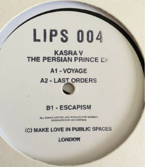 Kasra V/THE PERSIAN PRINCE EP 12""