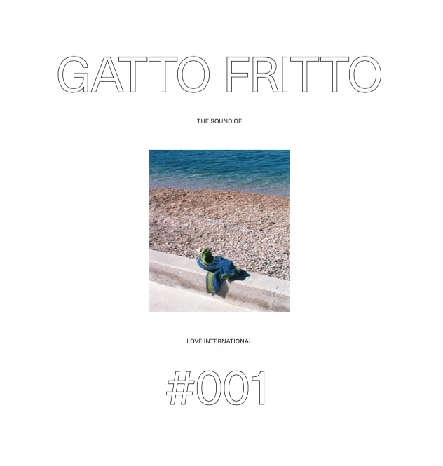 Gatto Fritto/SOUND OF LOVE INT'L 001 CD
