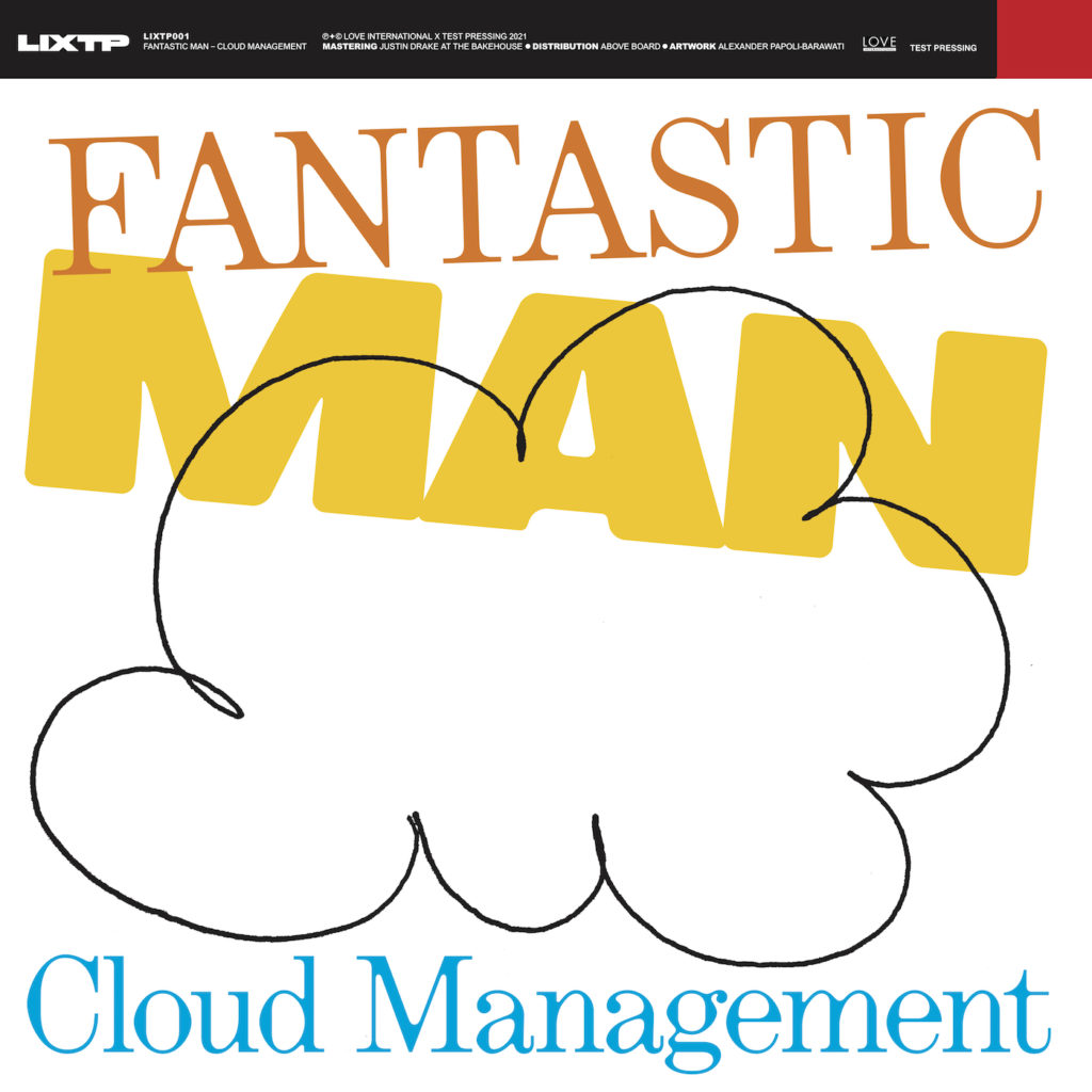 Fantastic Man/CLOUD MANAGEMENT EP 12""