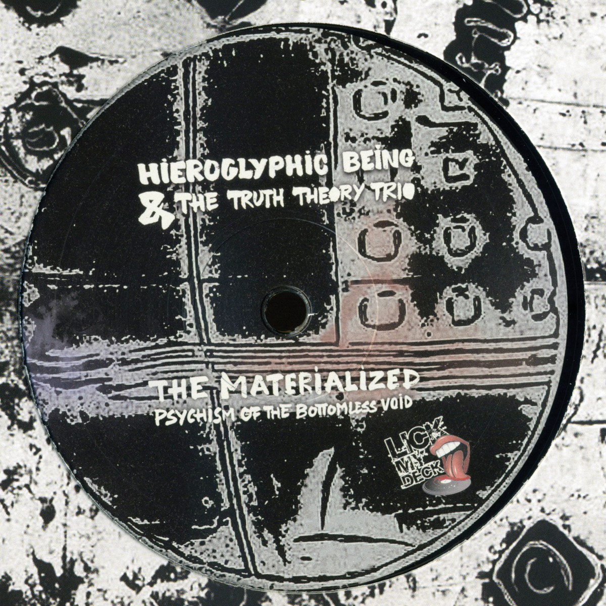 "Hieroglyphic Being & TTTT/MATERIAL...12"""