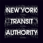 N.Y. Transit Authority/OFF THE TRAX 12""