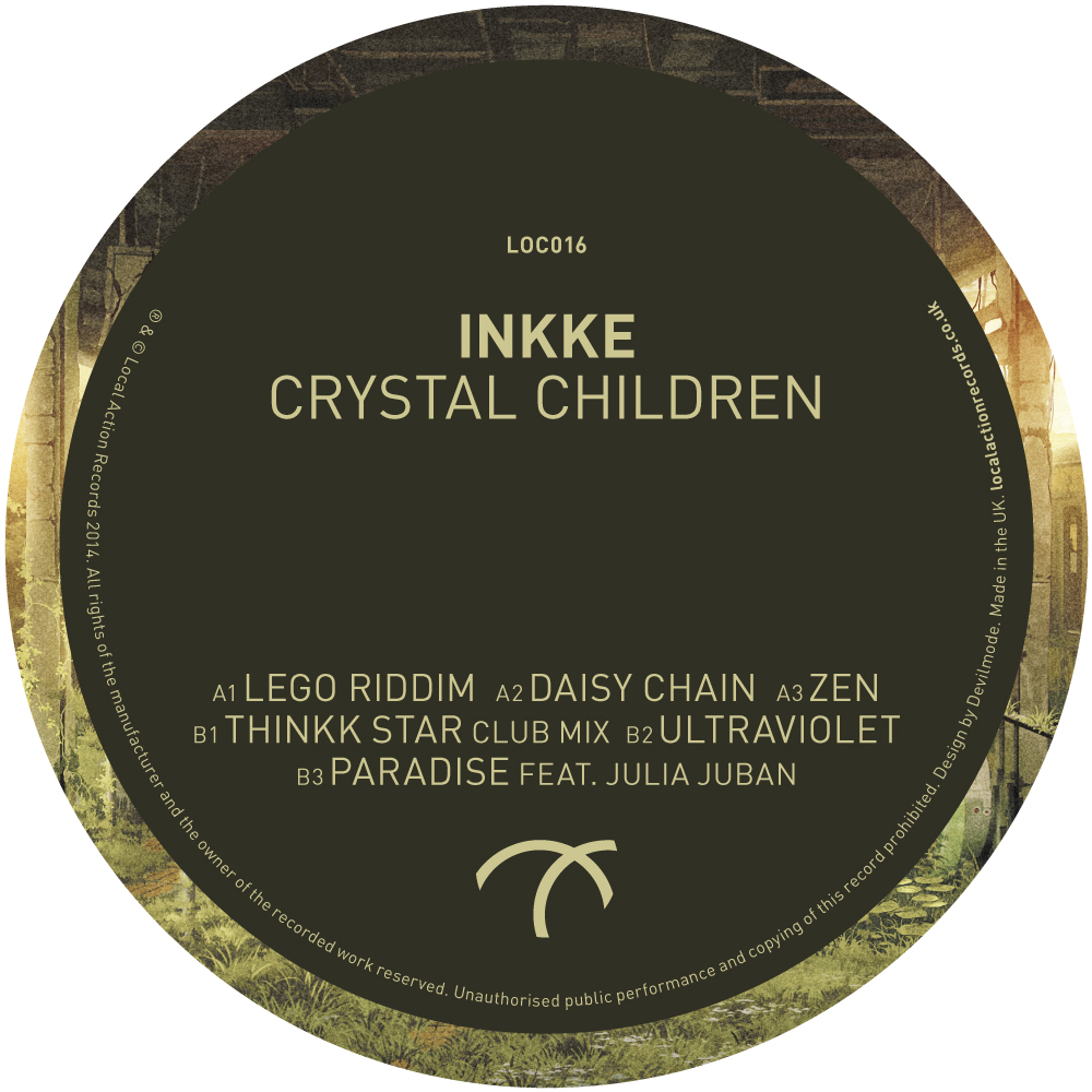 Inkke/CRYSTAL CHILDREN EP 12""