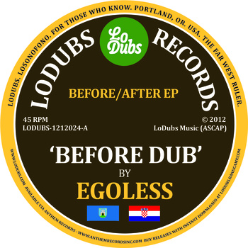 Egoless/BEFORE AFTER EP 12""