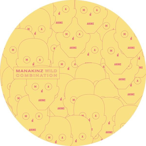 "Manakinz/WILD COMBINATION EP 12"""