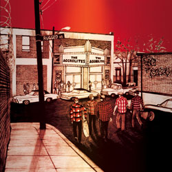 Aggrolites/RUGGED ROAD (RED) LP