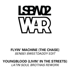 War/FLYING MACHINE-YOUNGBLOOD EDITS 12""