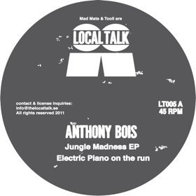 "Anthony Bois/JUNGLE MADNESS EP 12"""