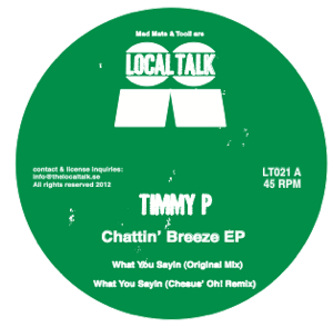 Timmy P/CHATTIN BREEZE EP 12""