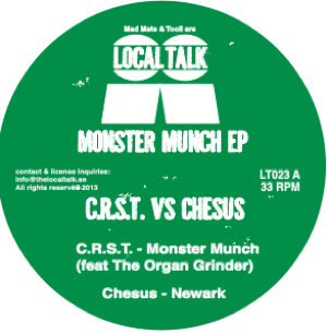C.R.S.T. Vs Chesus/MONSTER MUCH EP 12""