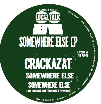 Crackazat/SOMEWHERE ELSE 12""