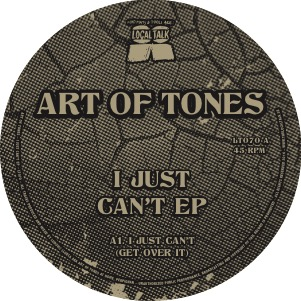 """Art Of Tones/I JUST CAN'T 12"""""""