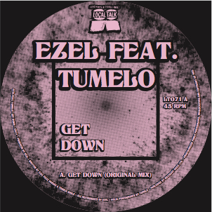 Ezel feat. Tumelo/GET DOWN 12""