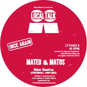 """Mateo & Matos/MAW BASICS 12"""""""