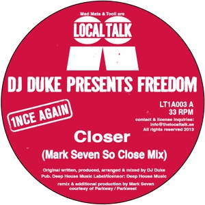 """DJ Duke pres Freedom/CLOSER 12"""""""