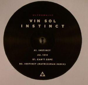 "Vin Sol/INSTINCT (MATRIXXMAN REMIX) 12"""