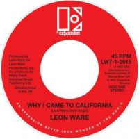 Leon Ware/WHY I CAME TO CALIFORNIA 7""