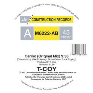 "T-Coy/CARINO 12"""