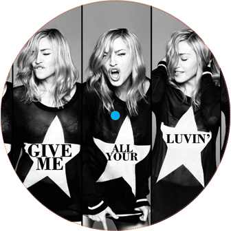 Madonna/GIVE ME ALL YOUR LUVIN' EP 12""