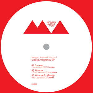 Osmose & ByDesign/DISCO EMERGENCY EP 12""